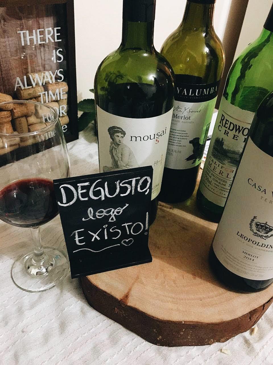 Confraria de vinhos: degusto, logo existo