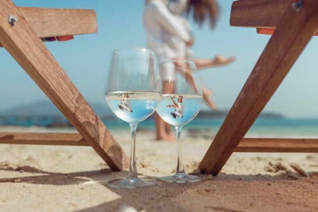 vinhos e espumantes verão