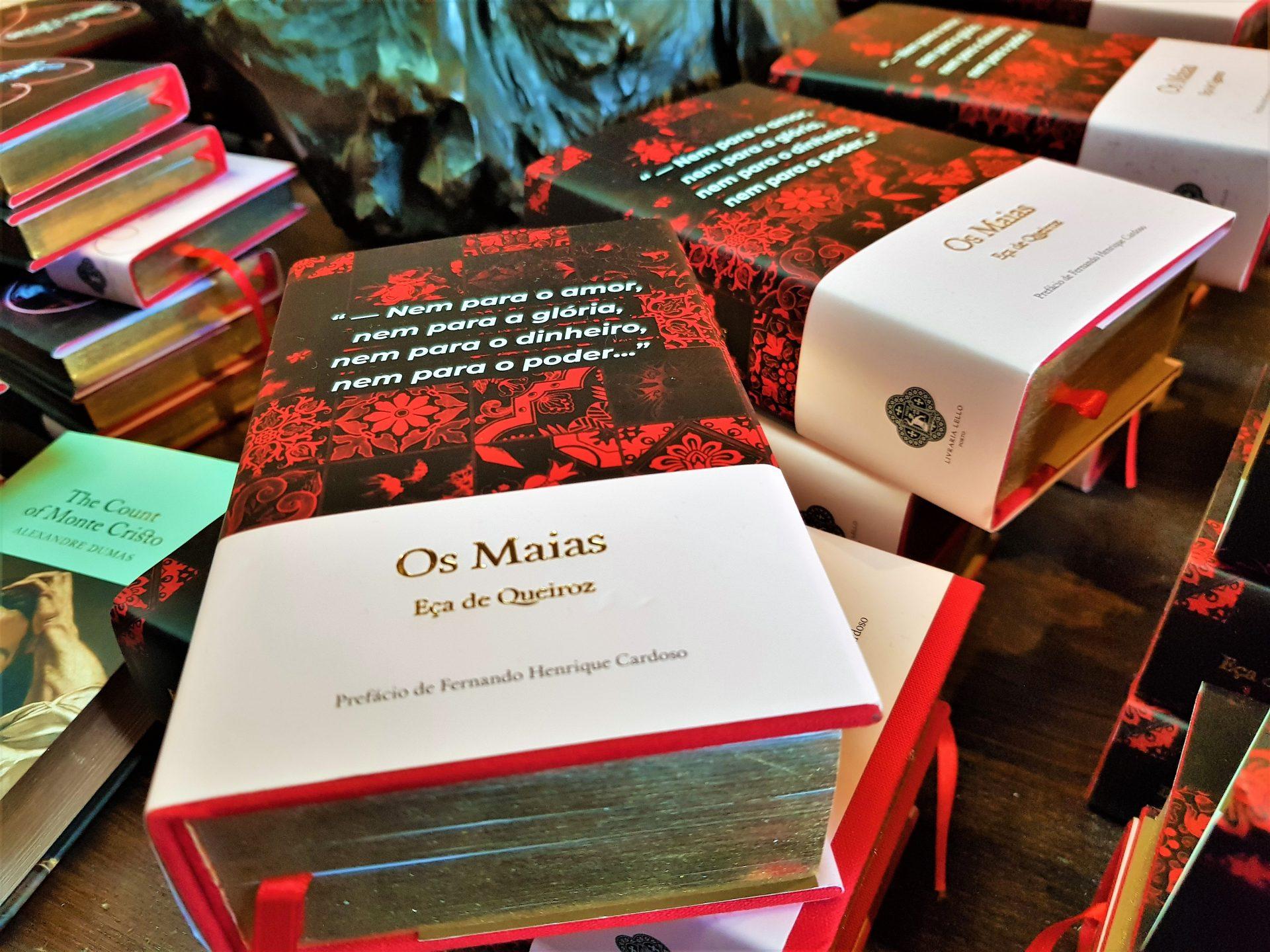 Edição especial Livraria Lello - Os Maias